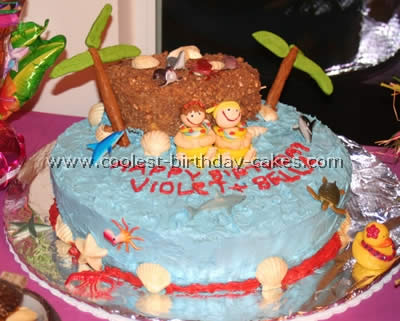 Coolest Luau Party Cakes