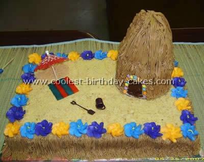 Coolest Luau Party Cakes