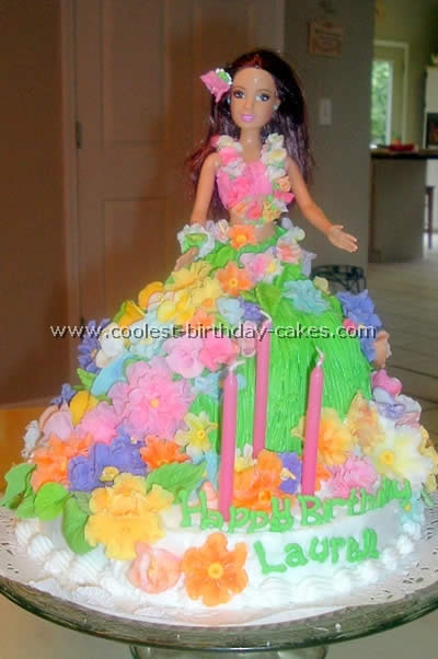 Hula Girl Cake