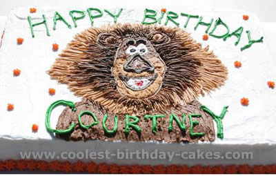 Coolest Alex the Lion Madagascar Animal Birthday Cake Photos and How-to Tips