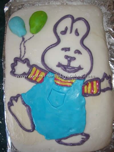 Max and Ruby Cake Photo