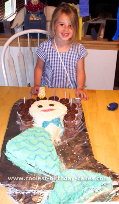 Mermaid Cake Photo