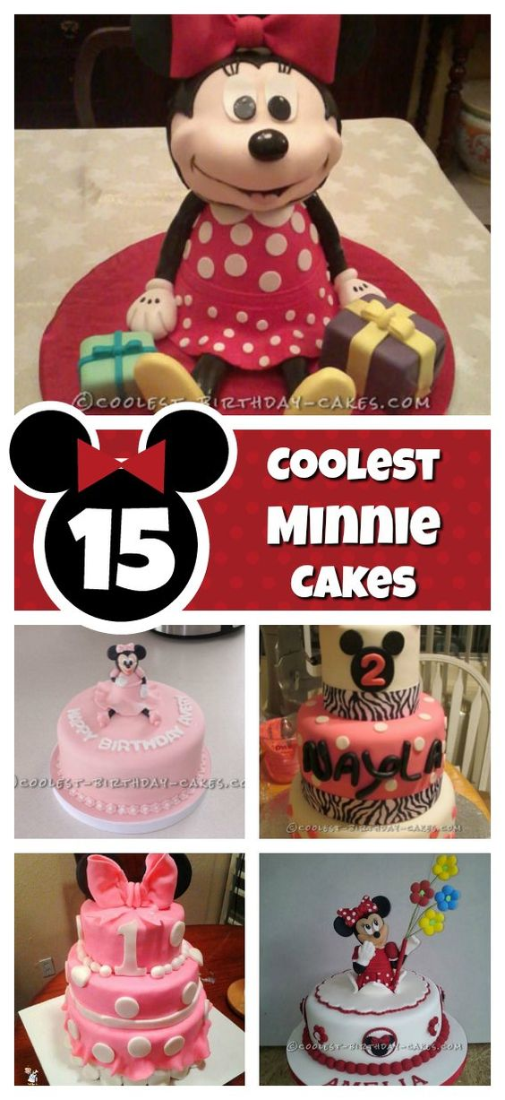 Terrific 15 Cool Minnie Mouse Birthday Cakes Funny Birthday Cards Online Overcheapnameinfo