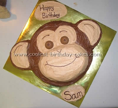 Miraculous Coolest Monkey Birthday Cake Ideas And Decorating Techniques Funny Birthday Cards Online Alyptdamsfinfo