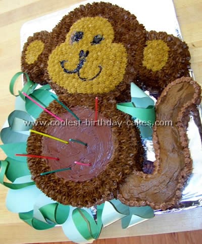 Fine Coolest Monkey Birthday Cake Ideas And Decorating Techniques Funny Birthday Cards Online Alyptdamsfinfo