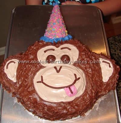 Coolest Monkey Cakes