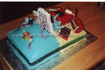 Coolest Monster Inc Cakes on the Web's Largest Homemade Birthday Cake Gallery