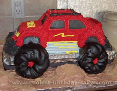 Coolest Monster Truck Picture Cakes