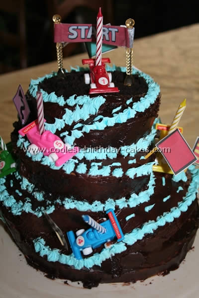 Pleasant Coolest Nascar Birthday Cake Ideas Funny Birthday Cards Online Elaedamsfinfo