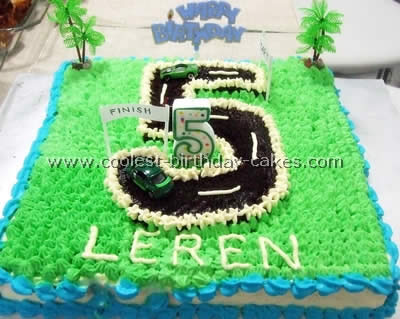 Coolest NASCAR Birthday Cake Ideas