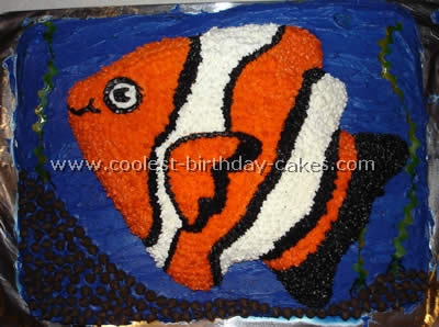 Coolest Finding Nemo Cake Photos