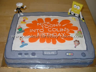 Coolest Nickelodeon Cake Ideas and Photos