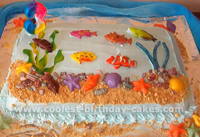 Cool Coolest Ocean Cake Ideas And Photos Funny Birthday Cards Online Aeocydamsfinfo