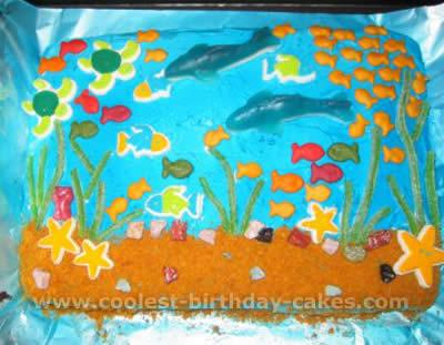 Under the Sea Cake Picture