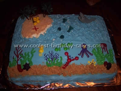 Outstanding Coolest Ocean Cake Ideas And Photos Funny Birthday Cards Online Aeocydamsfinfo