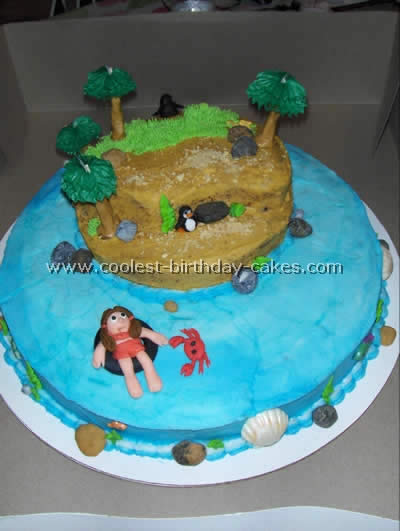 Coolest Island-Shaped Ocean Cakes