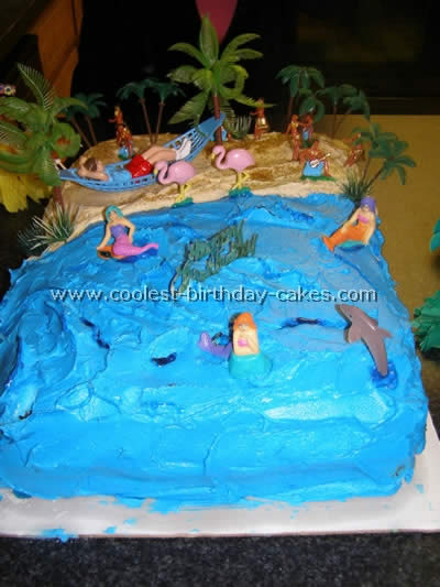 Under the Sea Cake Picture