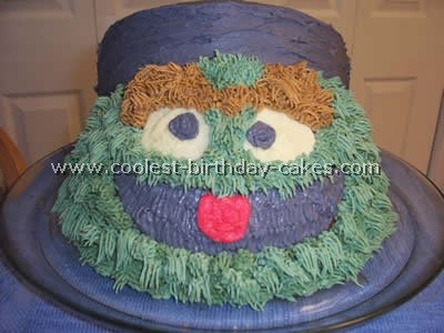 Coolest Oscar the Grouch Birthday Cake Photos and How-to Tips