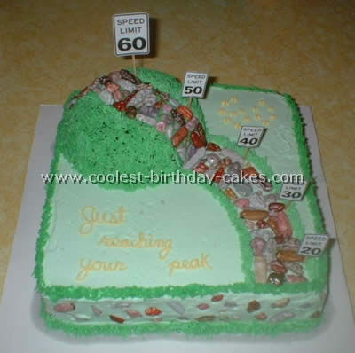 Awesome Hilariously Awesome Homemade Over The Hill Cakes Personalised Birthday Cards Vishlily Jamesorg
