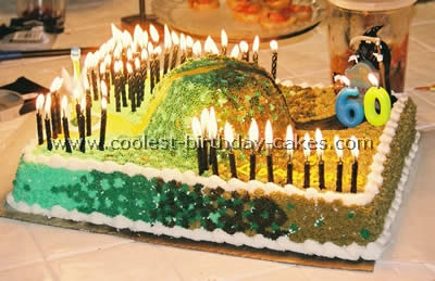 Fun Cake With 60 Candles