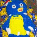 Backyardigan's Pablo Penguin Cake Photos and Tips
