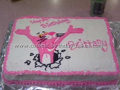 Coolest Pink Panther Picture Cakes on the Web's Largest