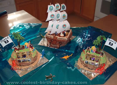 Coolest Pirate Birthday Cakes and How-To Tips