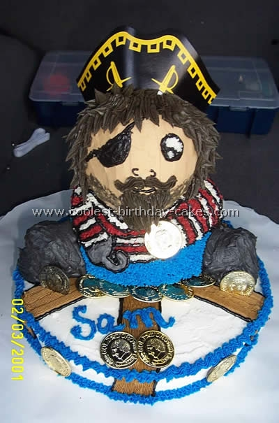 Pirate Party Cake Photo