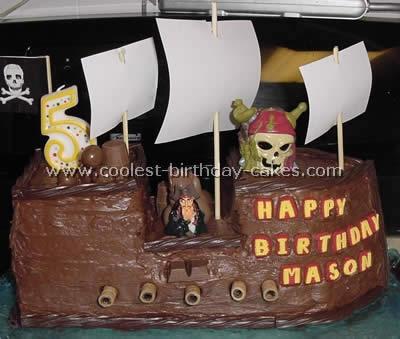 Coolest Pirate Ship Birthday Cake Ideas