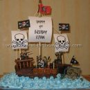 Coolest Pirate Ship Cake Photos and Tips