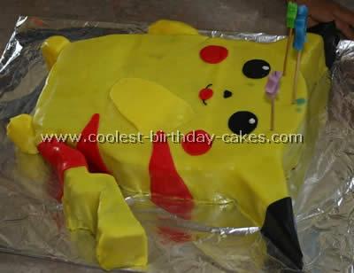 Terrific Coolest Homemade Pokemon Cakes Funny Birthday Cards Online Alyptdamsfinfo