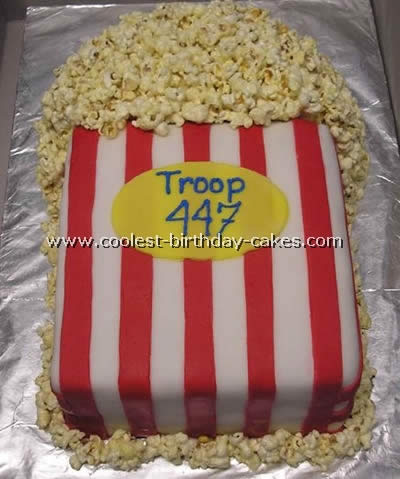 Coolest Popcorn Cake Photos And How To Tips