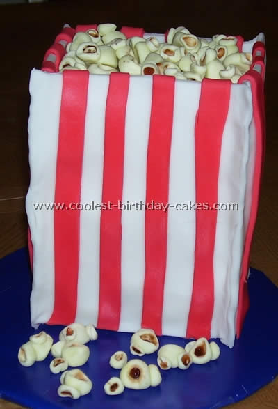 Coolest Popcorn Cake Photos and How-To Tips