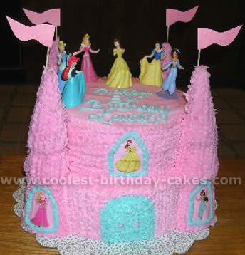 Coolest Princess Castle Cake Photos And How To Tips