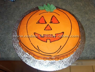 Astounding Coolest Pumpkin Cake Ideas Photos And How To Tips Personalised Birthday Cards Beptaeletsinfo