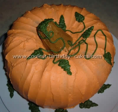 Pumpkin Cake Photo