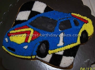 Wondrous Coolest Race Car Cake Ideas Funny Birthday Cards Online Elaedamsfinfo
