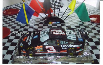 Coolest Race Car Picture Cakes