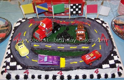 Wondrous Coolest Homemade Race Track Cake Ideas And Decorating Techniques Funny Birthday Cards Online Aboleapandamsfinfo