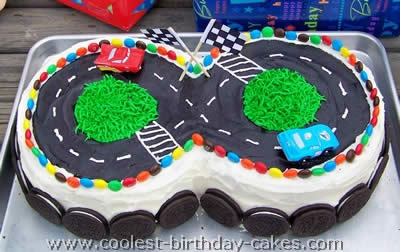 Coolest Homemade Race Track Cake Ideas And Decorating