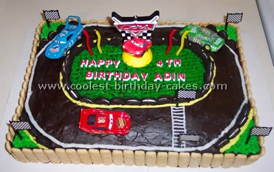Coolest Race Track Cakes