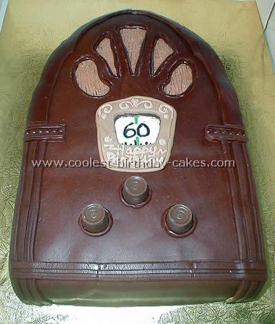Coolest Antique Radio Cake Ideas and Photos