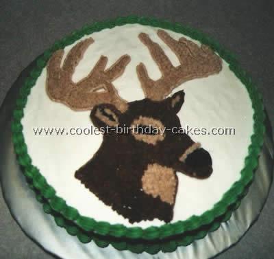 Remarkable Coolest Homemade Reindeer And Deer Cakes Birthday Cards Printable Inklcafe Filternl