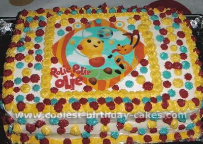 Rolie Polie Olie Cake