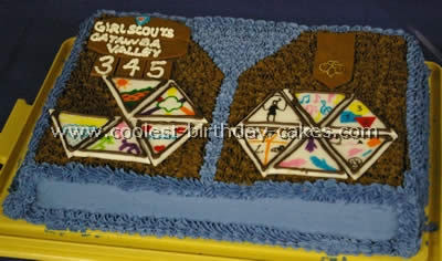 Coolest Scout Cakes Ideas And Photos