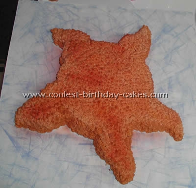 Coolest Starfish Cake Ideas and Other Sea Cake Photos