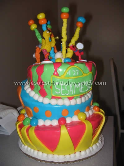 Strange Coolest Sesame Street Birthday Cake Photos And How To Tips Funny Birthday Cards Online Aeocydamsfinfo