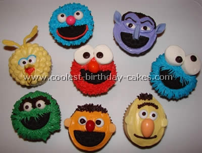 Coolest Sesame Street Cupcakes and Cakes