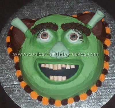 Sensational Coolest Shrek Cake Photos And Ideas Funny Birthday Cards Online Elaedamsfinfo