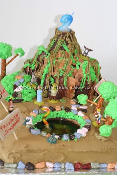 Coolest Shrek Cake Photos and Ideas